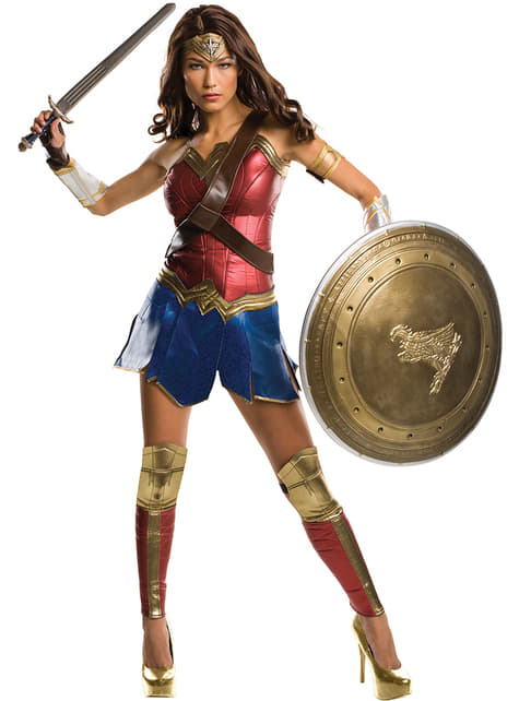 Disfraz de Wonder Woman Batman vs Superman Grand Heritage para mujer