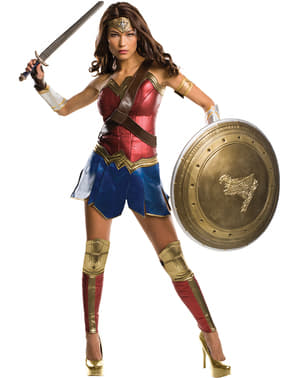 Grand Heritage Wonderwoman: Batman v Superman Klassisk Kostyme Dame