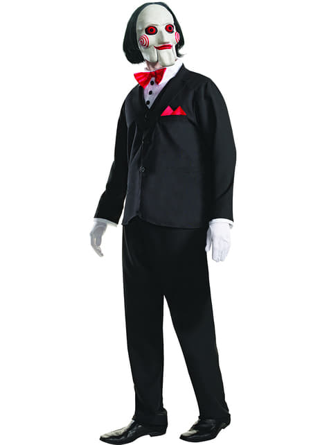 Man's Billy Saw Costume