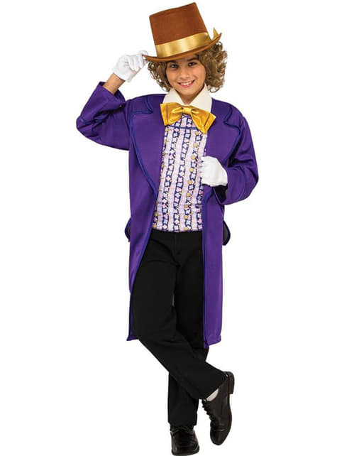 Boy's Willy Wonka Costume