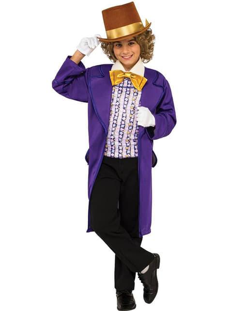 Disfraz de Willy Wonka para niño