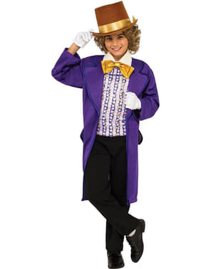 Costume Willy Wonka per bambino