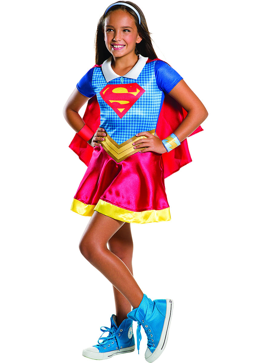 Girlu0027s Supergirl Costume. Detalle Zoom  sc 1 st  Funidelia : superhero girl costumes  - Germanpascual.Com
