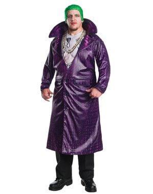 Disfraz de Joker Suicide Squad deluxe para hombre talla grande