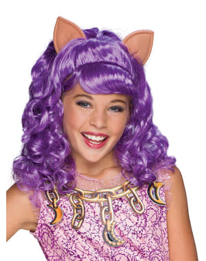 Clawdeen Wolf Monster High wig for a girl