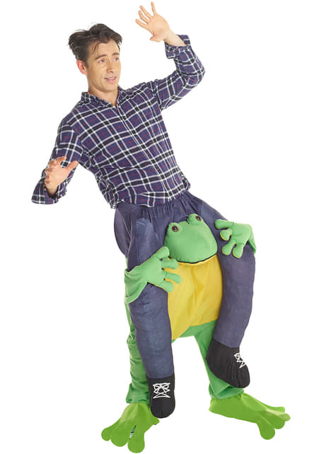 Carry Me Frog Costume