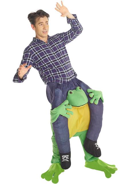 Disfraz me lo paso como una enana a hombros de la rana Carry Me