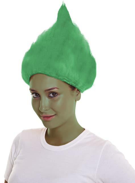 Adult's Green Troll Wig