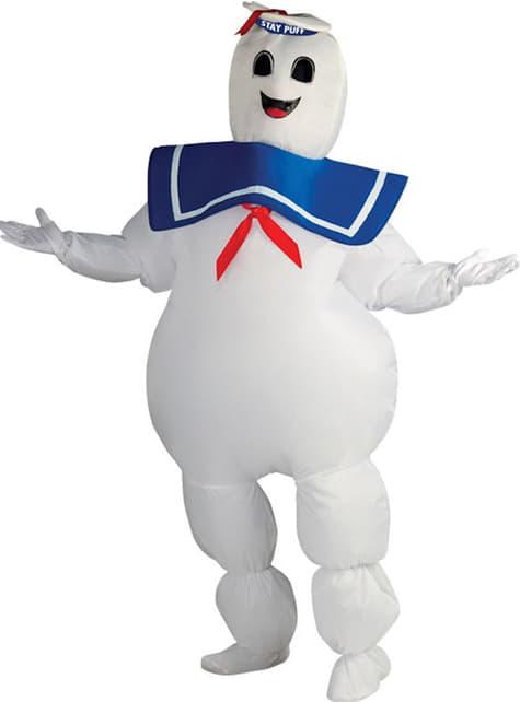 Disfraz de Marshmallow de Los Cazafantasmas para adulto talla grande
