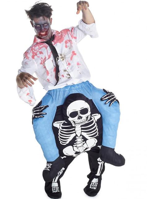 Déguisement porte moi zombie sur la mort