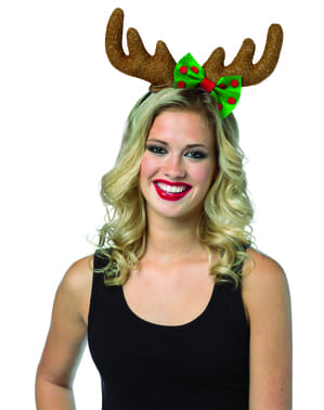 Woman's Charming Reindeer Headband