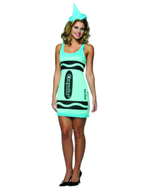 Buntstift Kleid für Damen