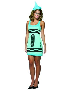 Vestido de crayola para mujer