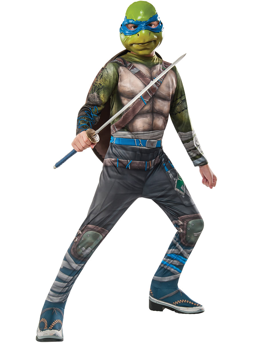Costume leonardo les tortues ninja 2 enfant livraison 24h funidelia - Leonardo tortues ninja ...