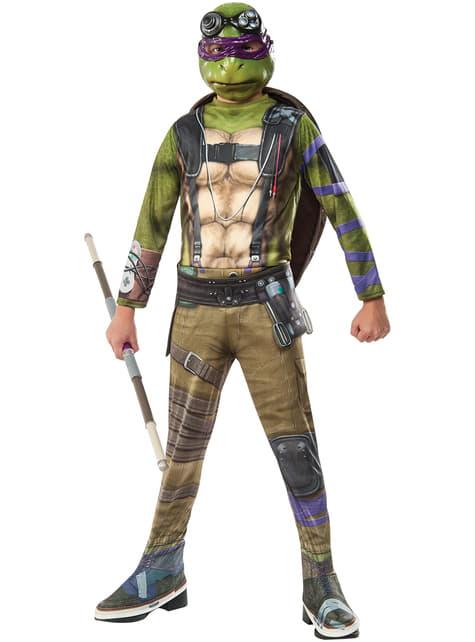 Boy's Donatello Teenage Mutant Ninja Turtles 2 Costume
