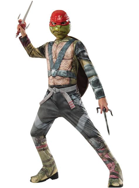 Kostium Raphael Żółwie Ninja 2 dla dzieci