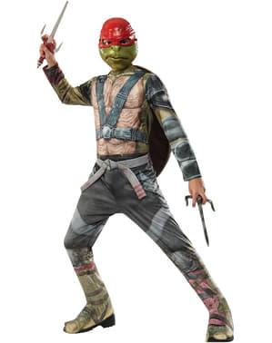 Ninja Turtles 2 Raphael kostume til drenge