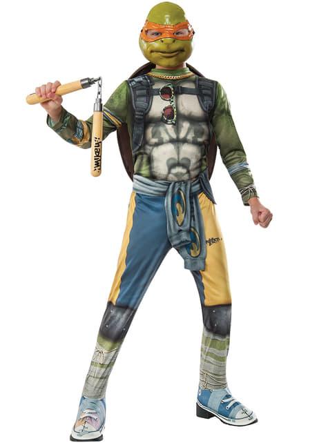 Αγόρι Michelangelo έφηβος μεταλλαγμένο χελώνες 2 κοστούμι