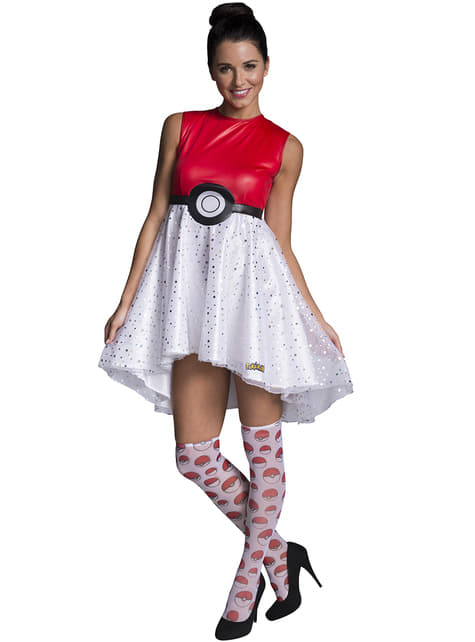 Disfraz de Pokeball para mujer