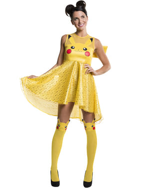 Fato de Pikachu para mulher