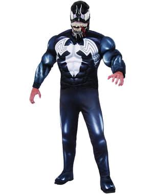 Disfraz de Venom musculoso para hombre