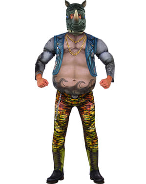 Maskeraddräkt Rocksteady Ninja Turtles 2 vuxen
