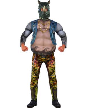 Ninja Turtles 2 Rocksteady kostume til mænd