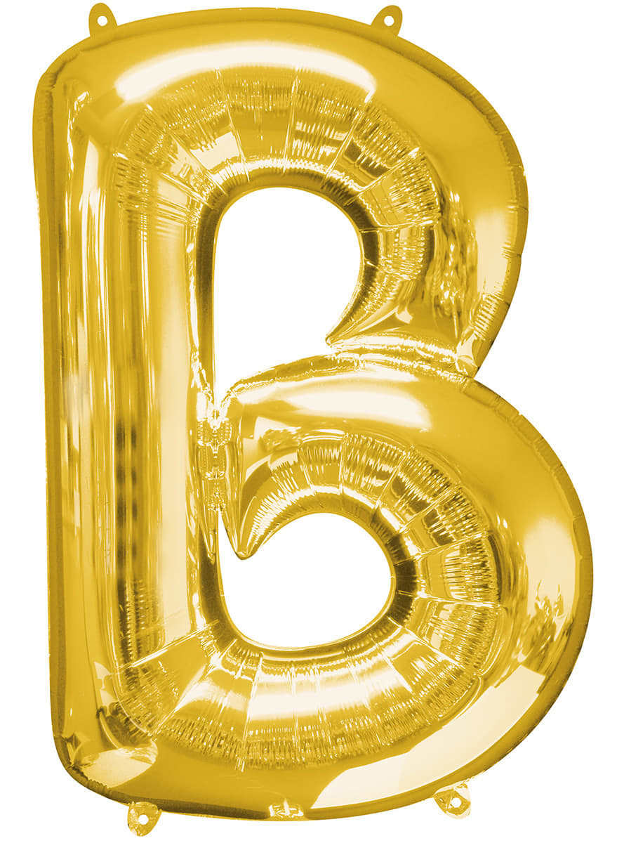 big balloon letters gold letter b balloon fast delivery funidelia 20604 | gold letter b balloon