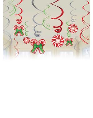 Decoración colgante navideña