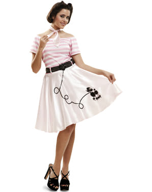 Woman's Little Miss Rock and Roll Costume