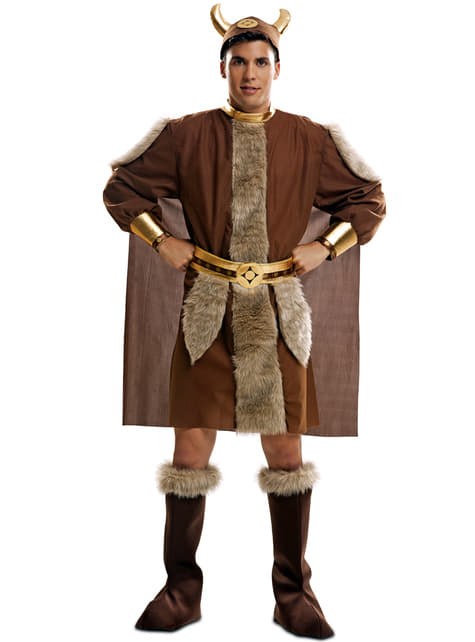 Fato de guerreiro nórdico para homem