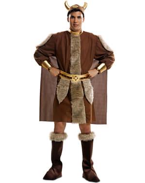 Nordisk Kriger Kostyme Mann