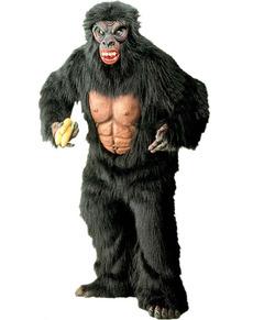 Disfraz de gorila peludo para adulto