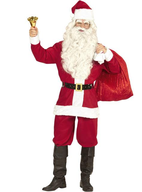 Disfraz de Papá Noel clásico para hombre