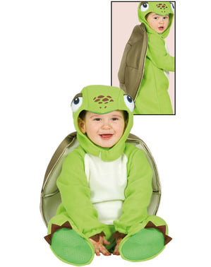 Costum de mica țestoasă pentru bebeluși