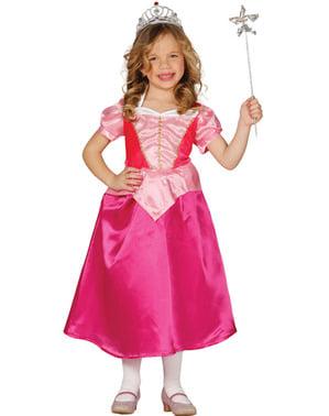 Disfraz de princesa durmiente para niña