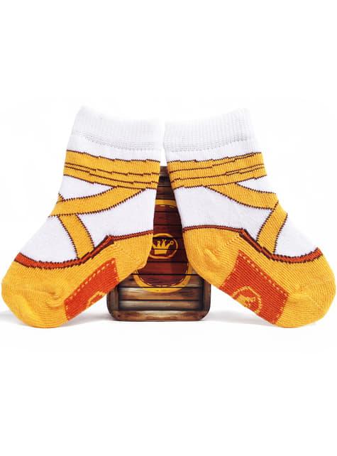 Calcetines de bailarina de ballet para bebé - para tu disfraz