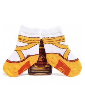 Ponožky pro nejmenší baletní cvičky