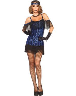Verleidelijk cabaret kostuum voor vrouw