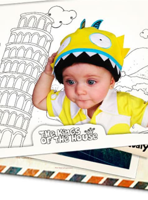 Czapka pirania dla niemowląt