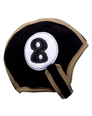 Baby's Number 8 Billiard Ball Hat