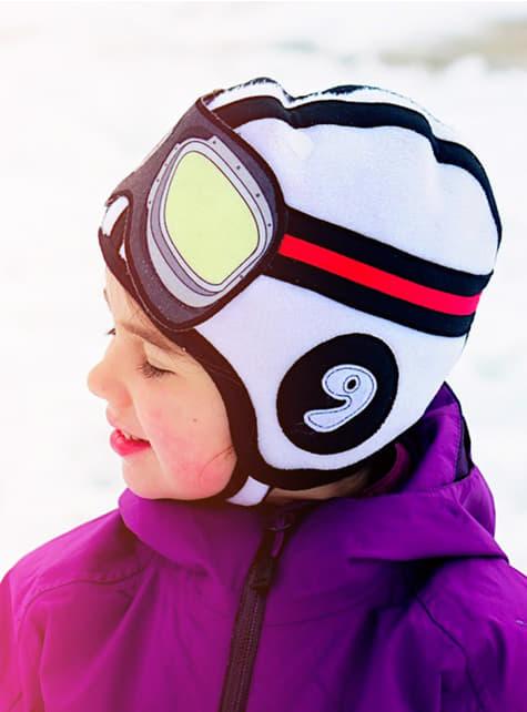 Bonnet aviateur bébé