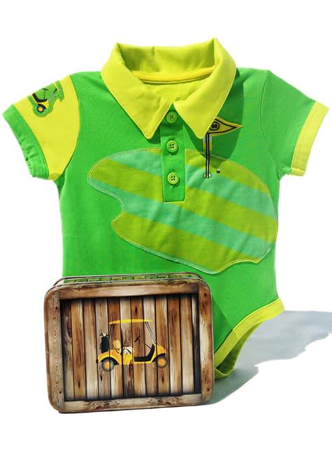 Body de golf para bebé