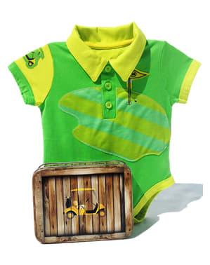 Body de golfe para bebé