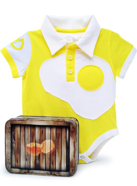 Body huevo frito para bebé