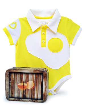 Body ovo estrelado para bebé