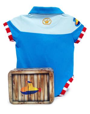 Body patinho marinheiro para bebé