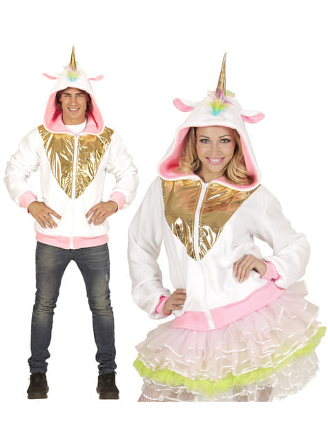 Adult's Plus Size Multi-coloured Unicorn Jacket