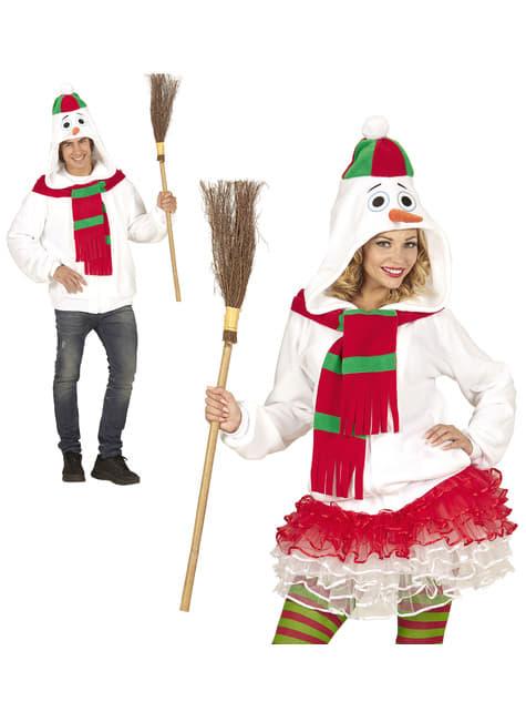 Adult's Plus Size Warm Snowman Jacket