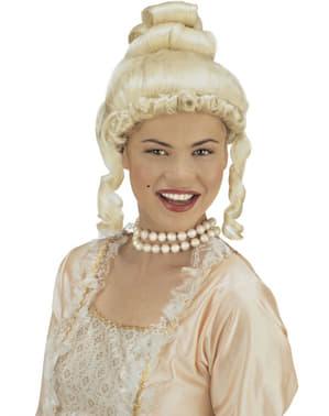 Peruka blond z epoki damska